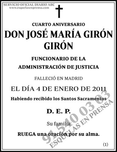 José María Girón Girón